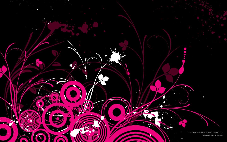 Black And Pink Wall Art  1 Cool Hd Wallpaper