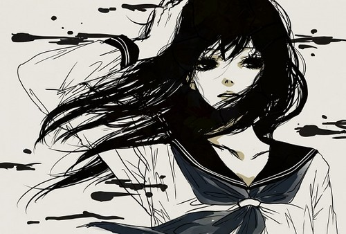 Black and white anime 63 hd wallpaper - Black and white anime wallpaper ...