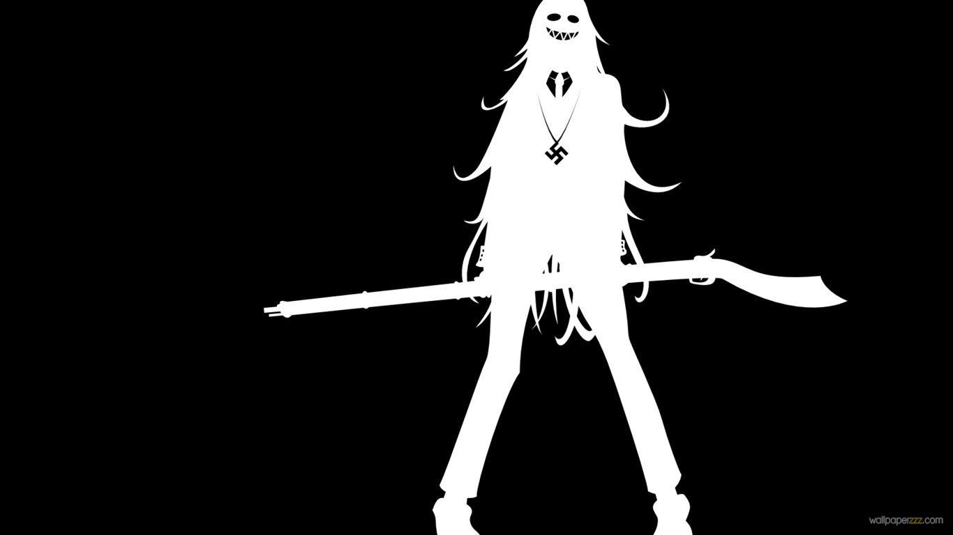 Black and white anime 45 wide wallpaper - Anime wallpaper black background ...
