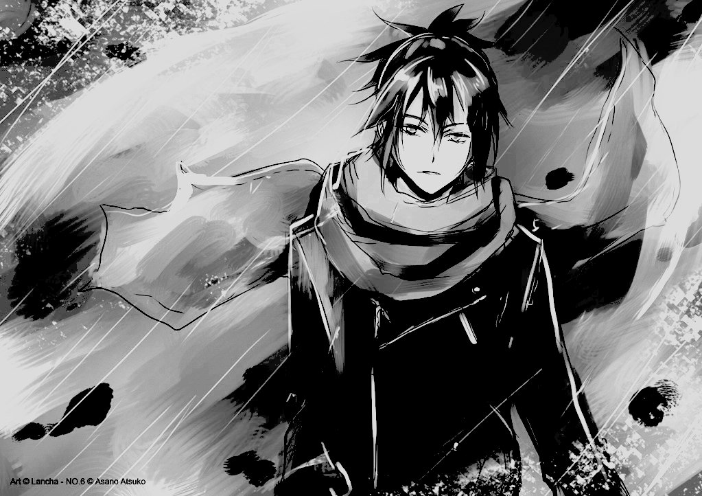 Black And White Anime  Cool Hd Wallpaper