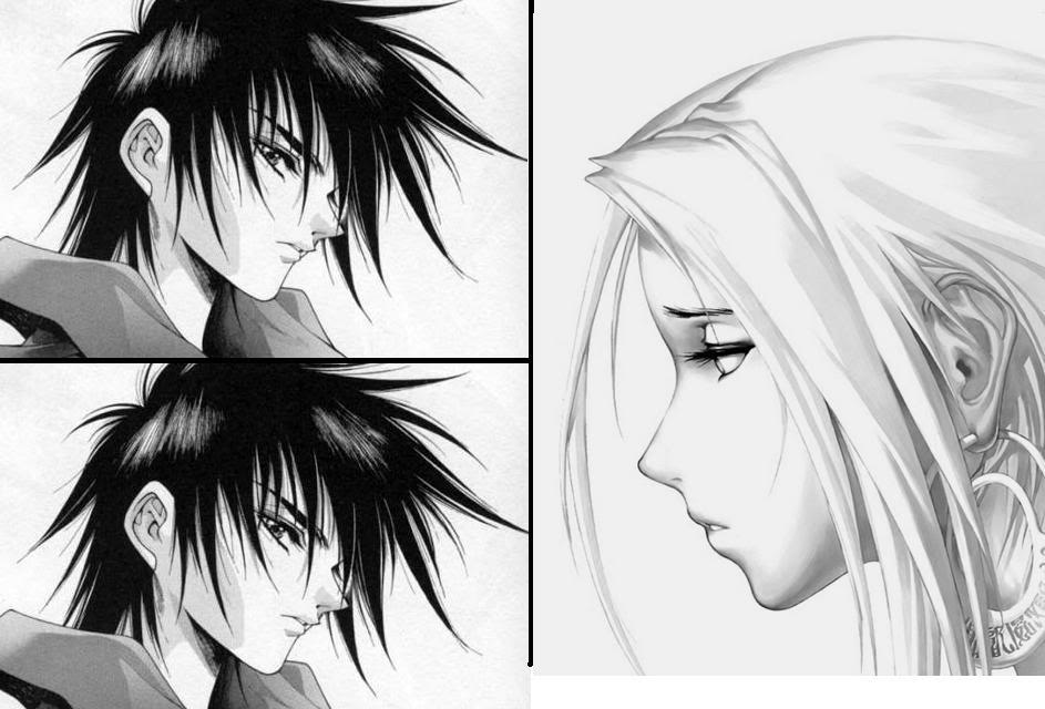 Black and white anime 60 wide wallpaper - Black and white anime wallpaper ...