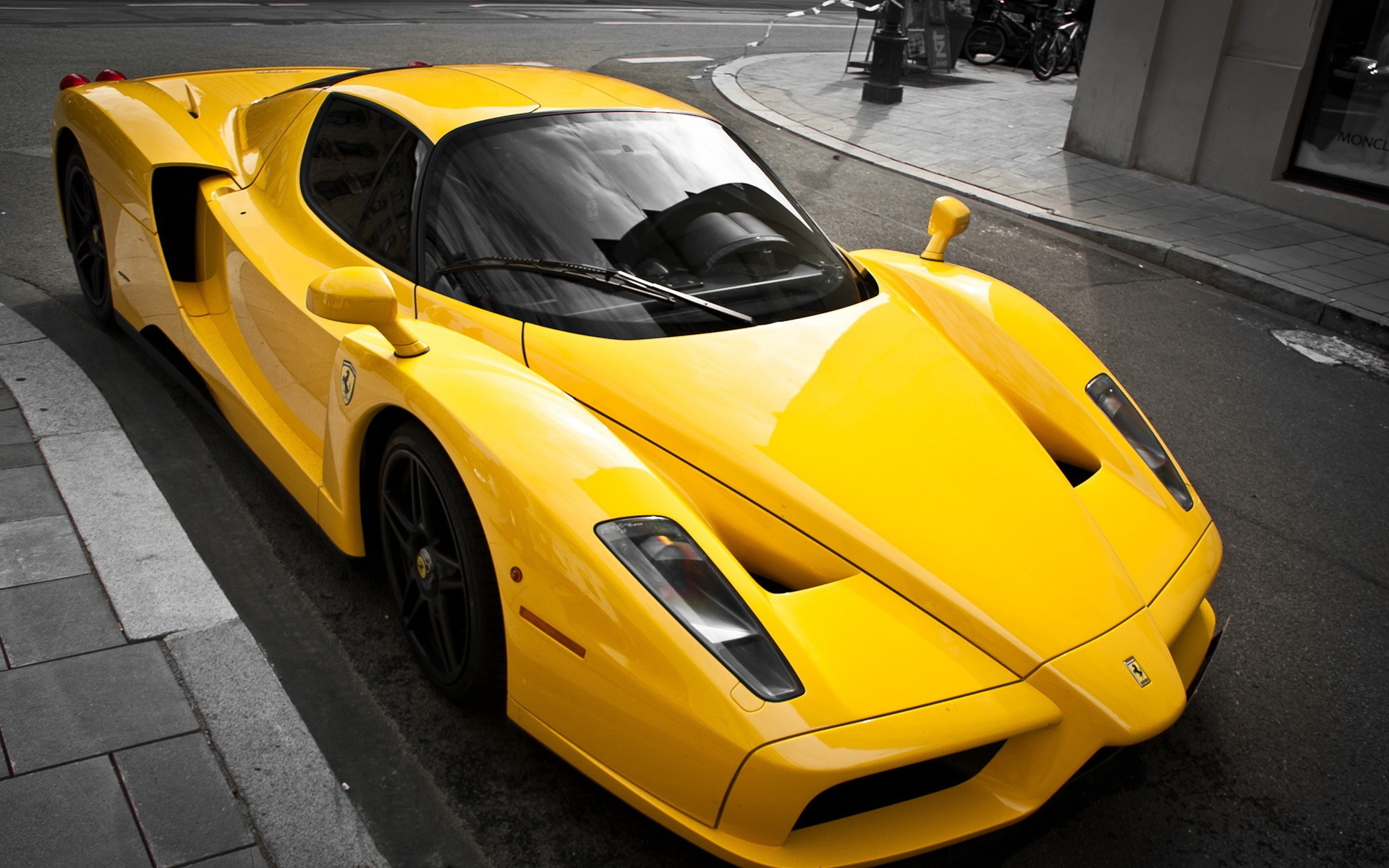 Black And Yellow Exotic Cars Wallpaper 1 Widescreen Wallpaper