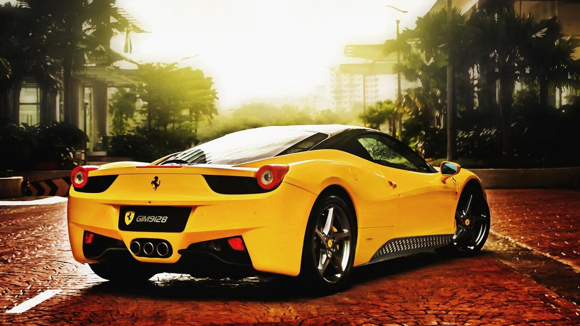 Black And Yellow Exotic Cars Wallpaper Cool Wallpaper - Cool yellow cars