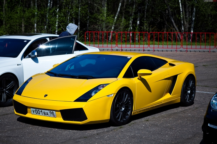 vehicle yellow sports car - photo #15