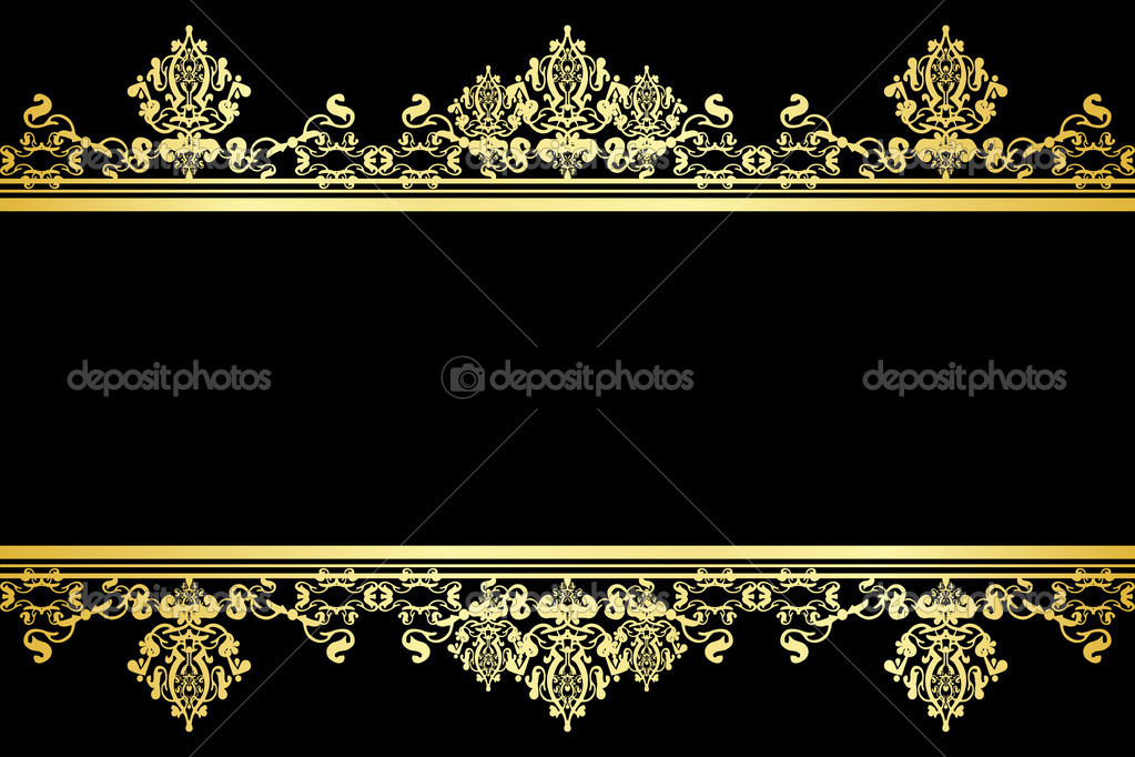 Elegant Black And Gold Wallpaper 6 Desktop Background Wallpaper