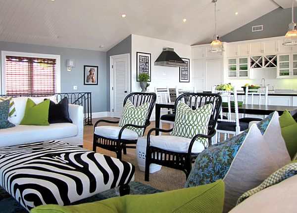 Exceptional Green And Black Living Room 4 Cool Wallpaper Part 13
