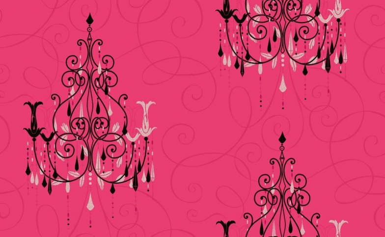 Hot Pink And Black Backgrounds  1 Hd Wallpaper