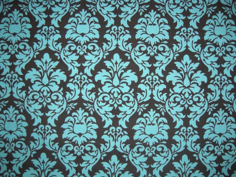 Dark Blue Damask Wallpaper: Silver And Black Damask Wallpaper 3 High Resolution