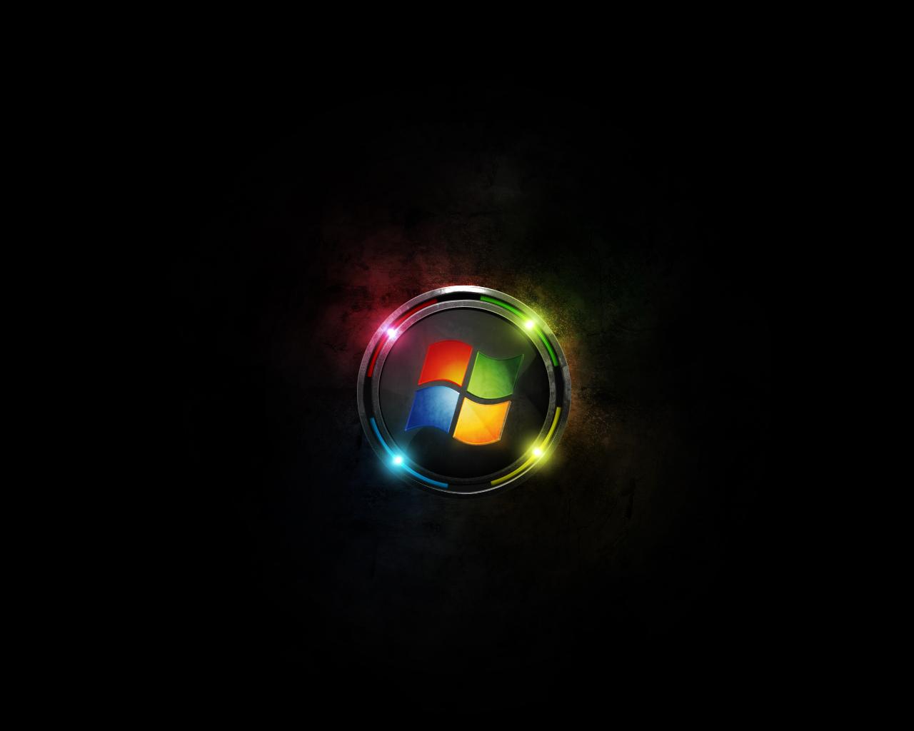 Windows 7 Background Black