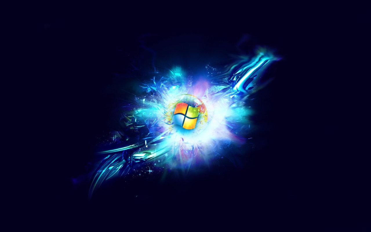 Windows 7 Black Wallpaper Hd 23 Widescreen Wallpaper