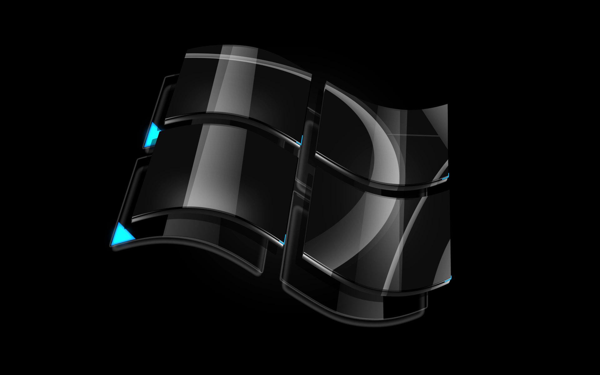Windows 7 Black Wallpaper Hd Cool