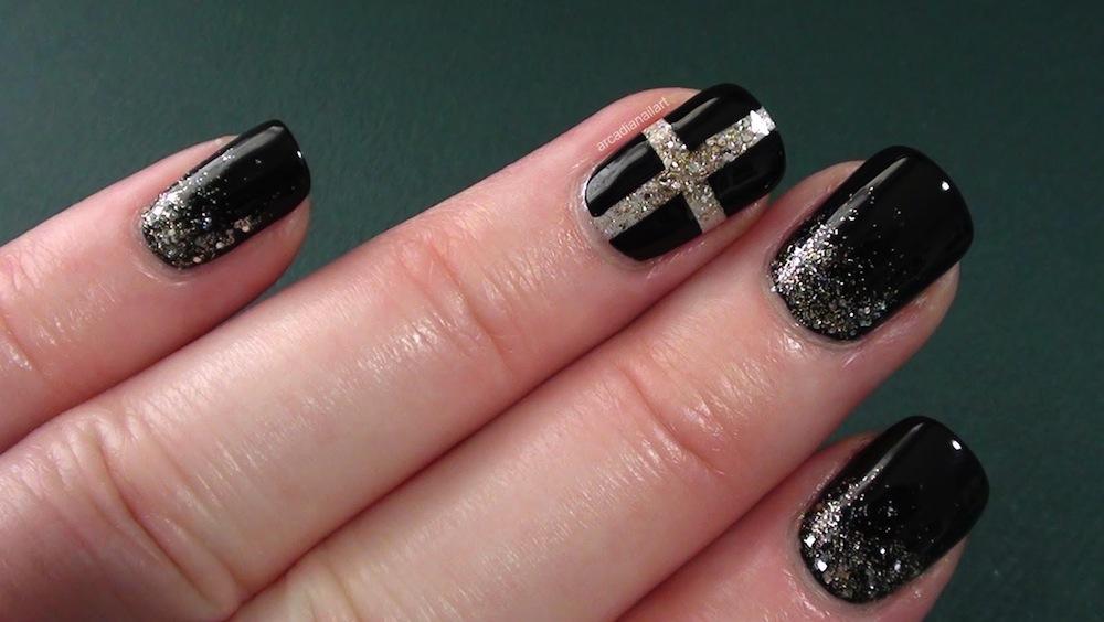 black and silver nail designs 13 high resolution wallpaper
