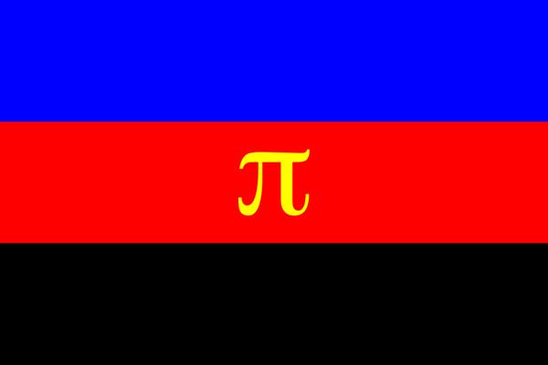 Blue And Black Flag 4 Desktop Wallpaper