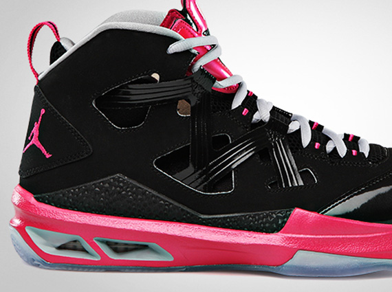 Pink And Black Jordans 3 Hd Wallpaper - Hdblackwallpaper.com