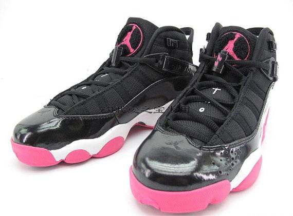 Pink And Black Jordans 7 Cool Wallpaper - Hdblackwallpaper.com