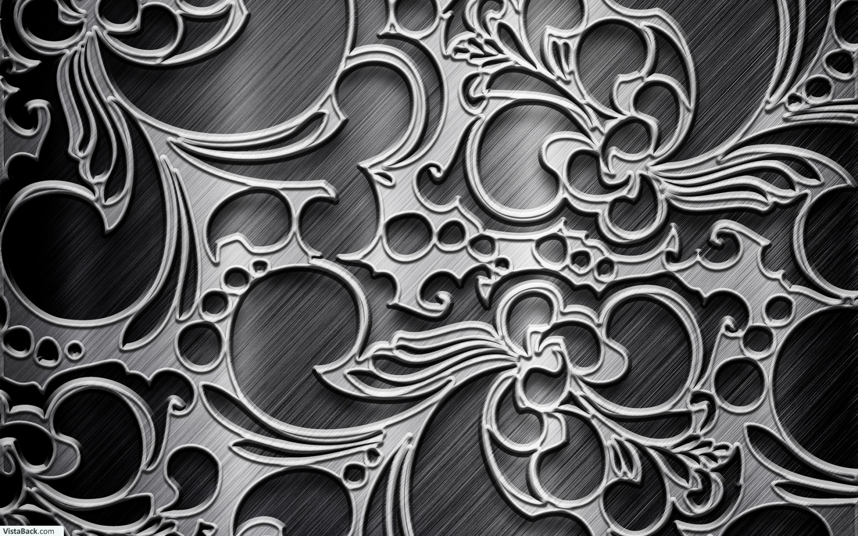 Black And Silver Online Images 4 Widescreen Wallpaper