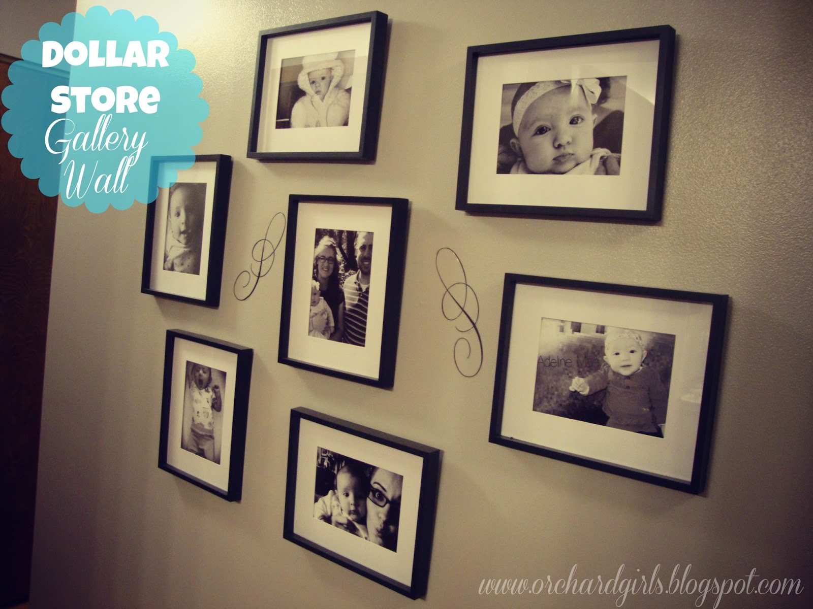 Black And White Color Frame 19 Background Wallpaper