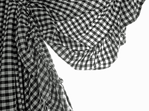 Black And White Curtain 5 Cool Hd Wallpaper
