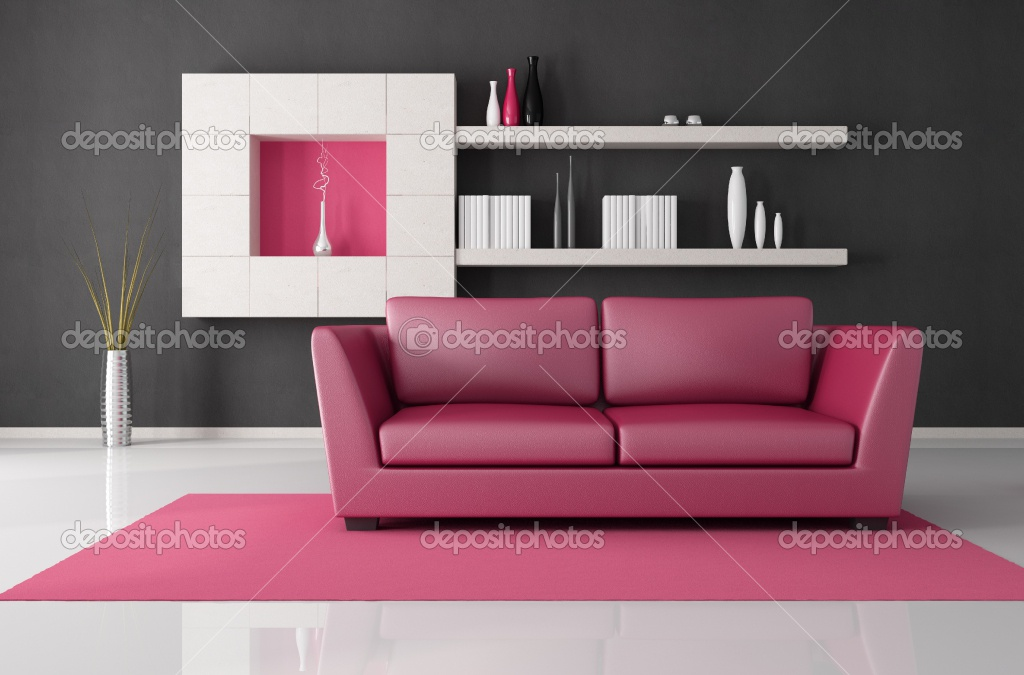 Pink and black decor 17 background for Black and pink furniture