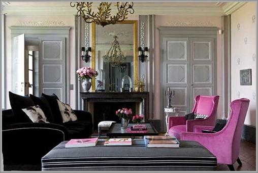 Pink And Black Interior Ideas 19 Desktop Wallpaper