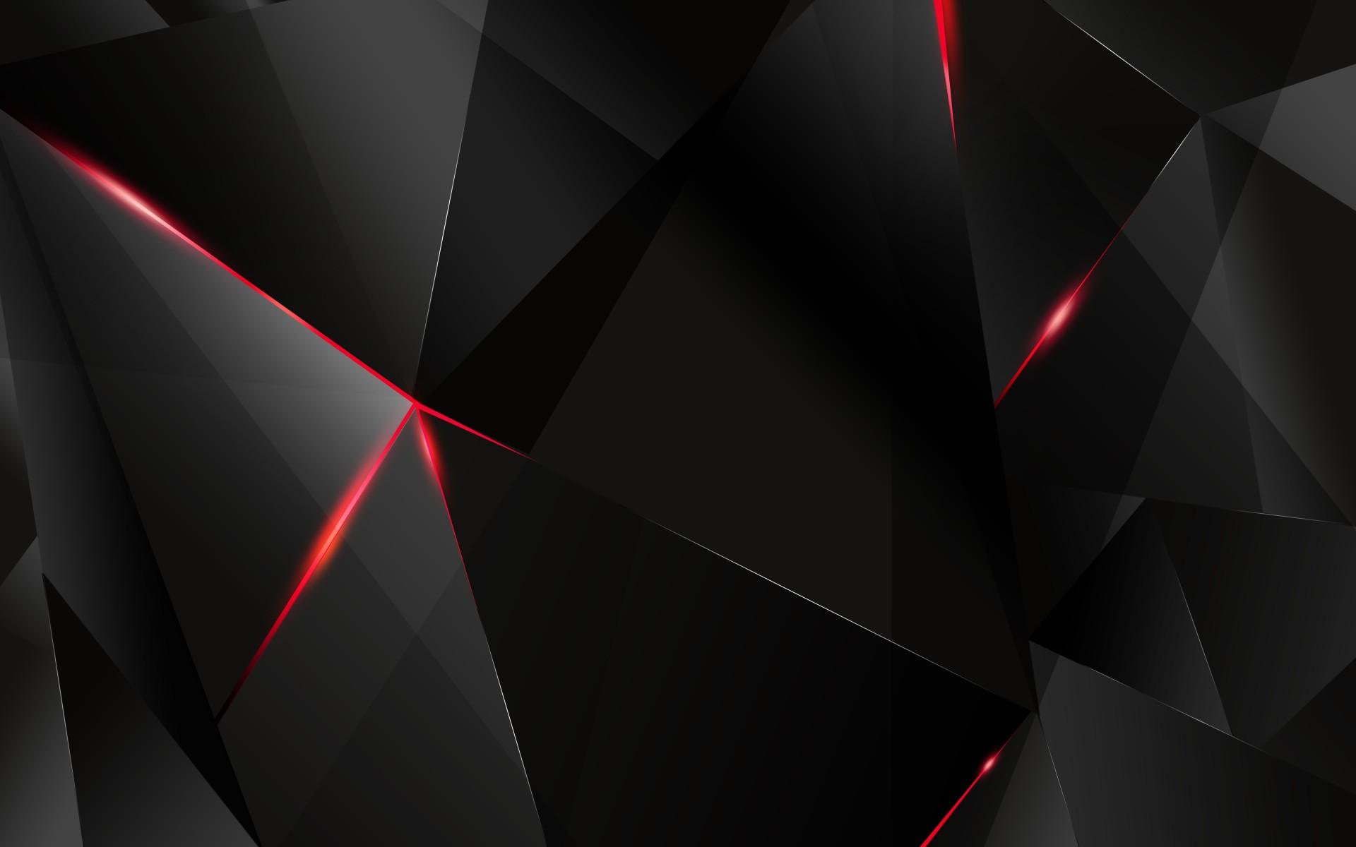 Plain Black 3D 7 Free Hd Wallpaper