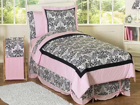 black and pink bedroom wallpaper pink and black bedding 16 desktop wallpaper 18325