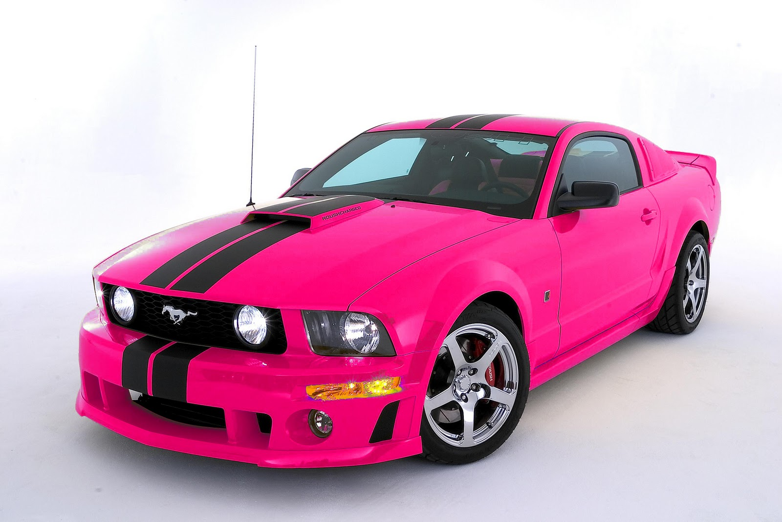 Black Car: Hot Pink And Black Cars 23 Background