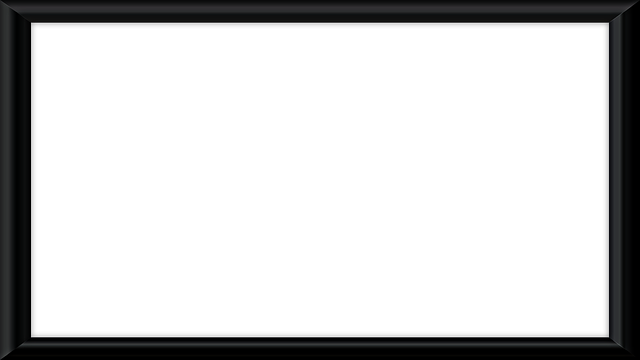 black wallpaper border