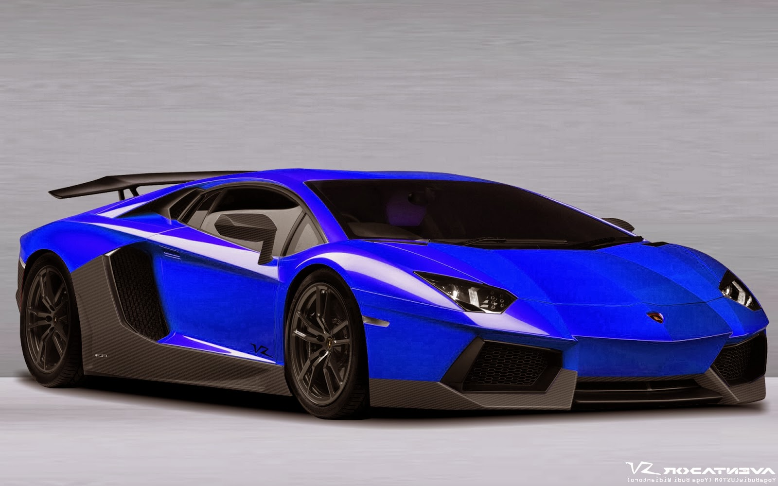 Black And Blue Lamborghini Wallpaper 9 Background Wallpaper
