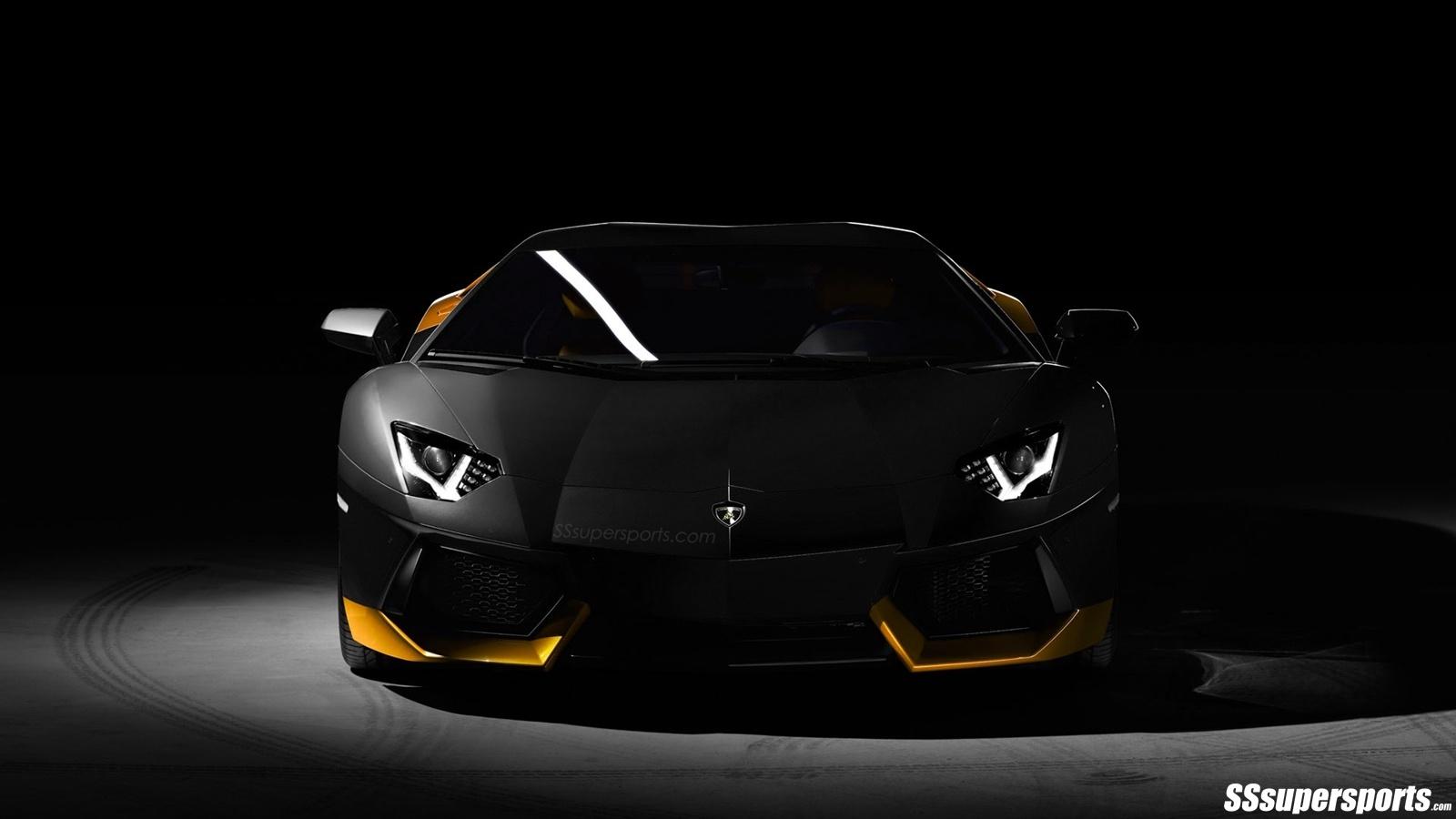 Black And Yellow Lamborghini Wallpaper 25 Widescreen