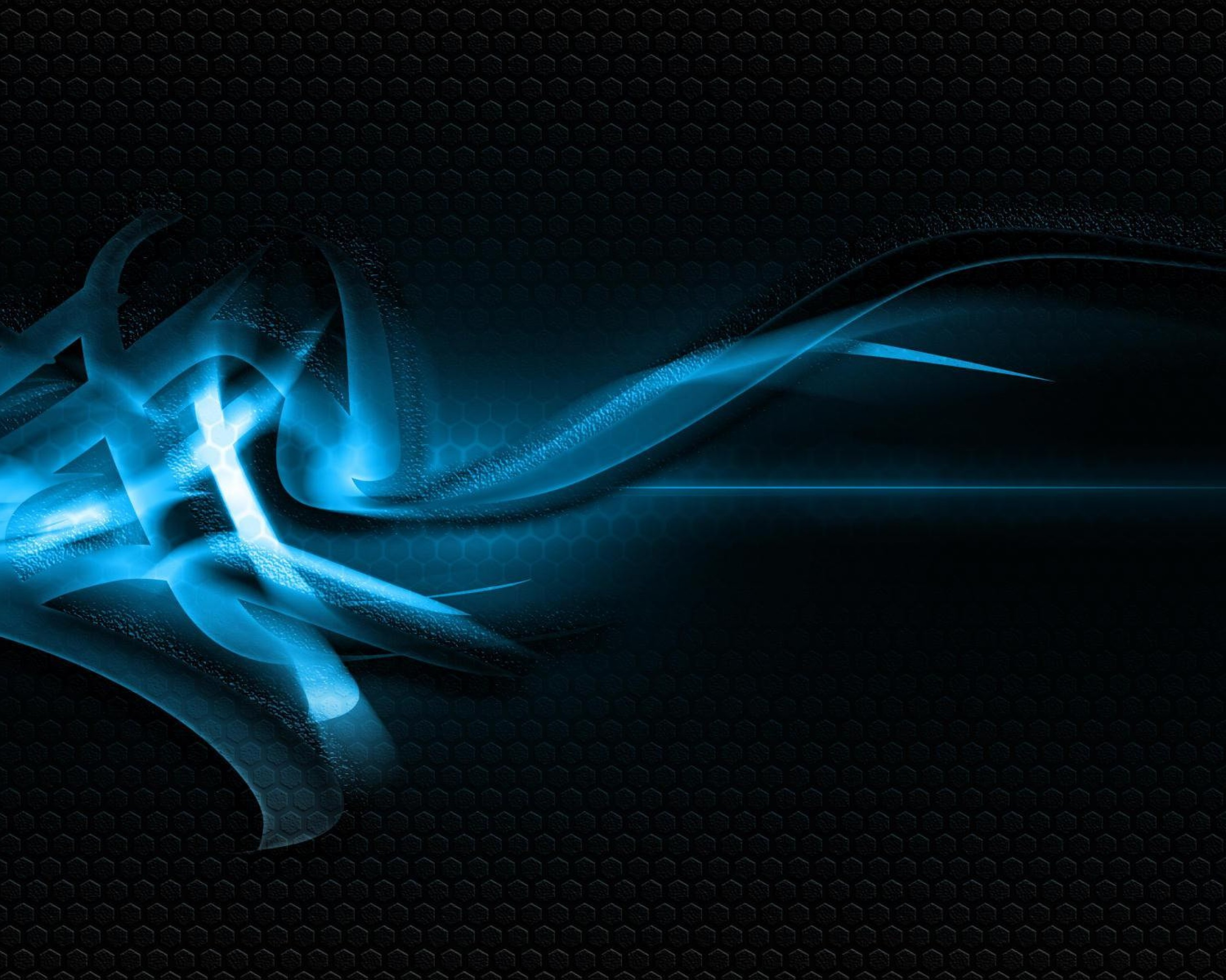 Black And Blue Abstract Wallpaper 7 Background