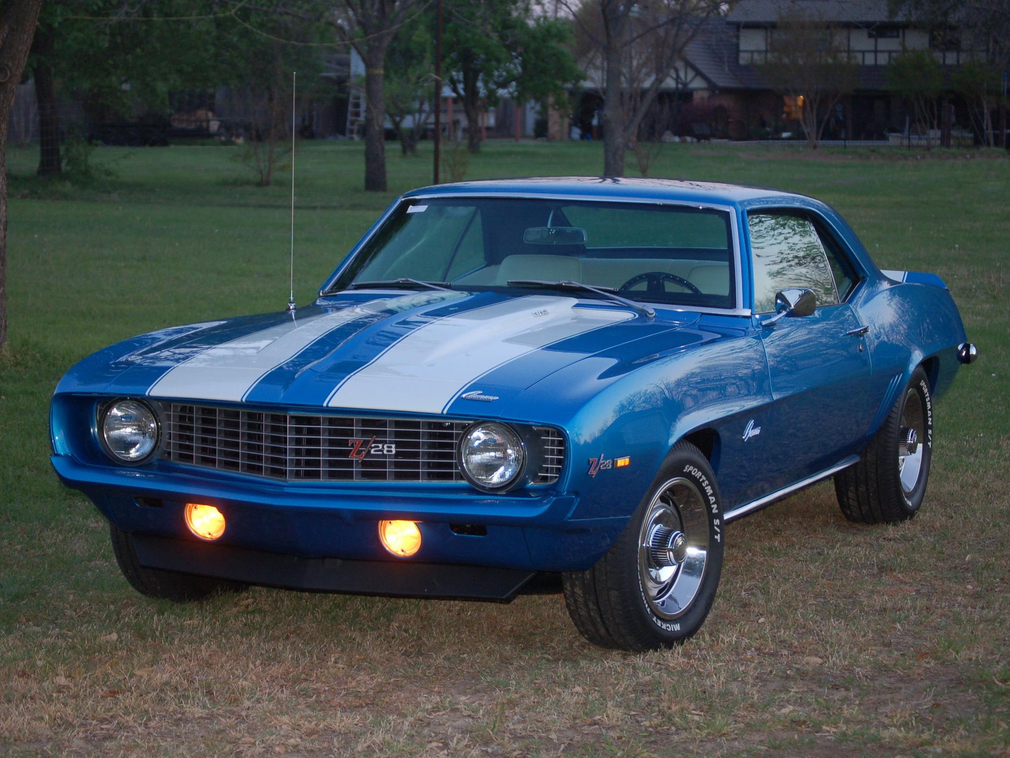 Blue And Black Chevrolet Wallpaper 1 Desktop Background
