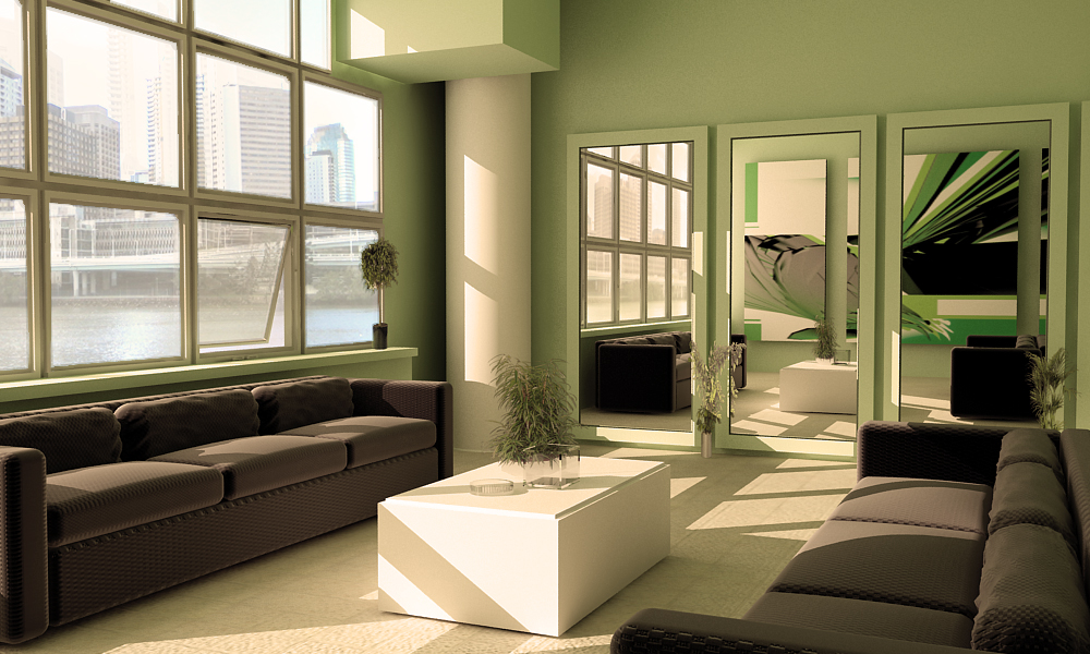 cool living room wallpaper green and black living room 24 cool wallpaper 14398